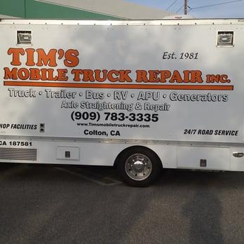 Tim's Mobile Truck Repair - Tires - 2277 La Crosse Ave