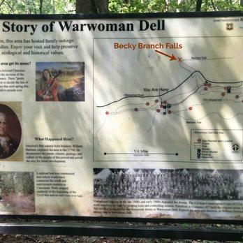 Becky Branch Falls - Hiking - Warwoman Dell, Clayton, GA - Yelp