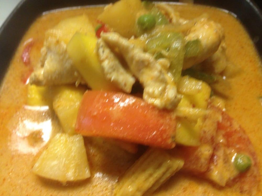 Mango chicken curry yelp for Ayothaya thai cuisine