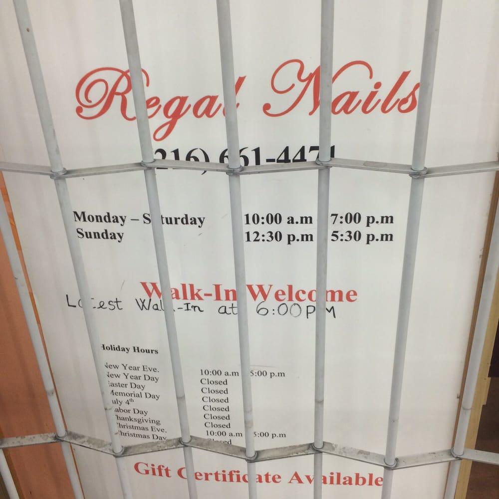 Regal Nails Salon & Spa - Nail Salons - 3400 Steelyard Dr, Tremont ...