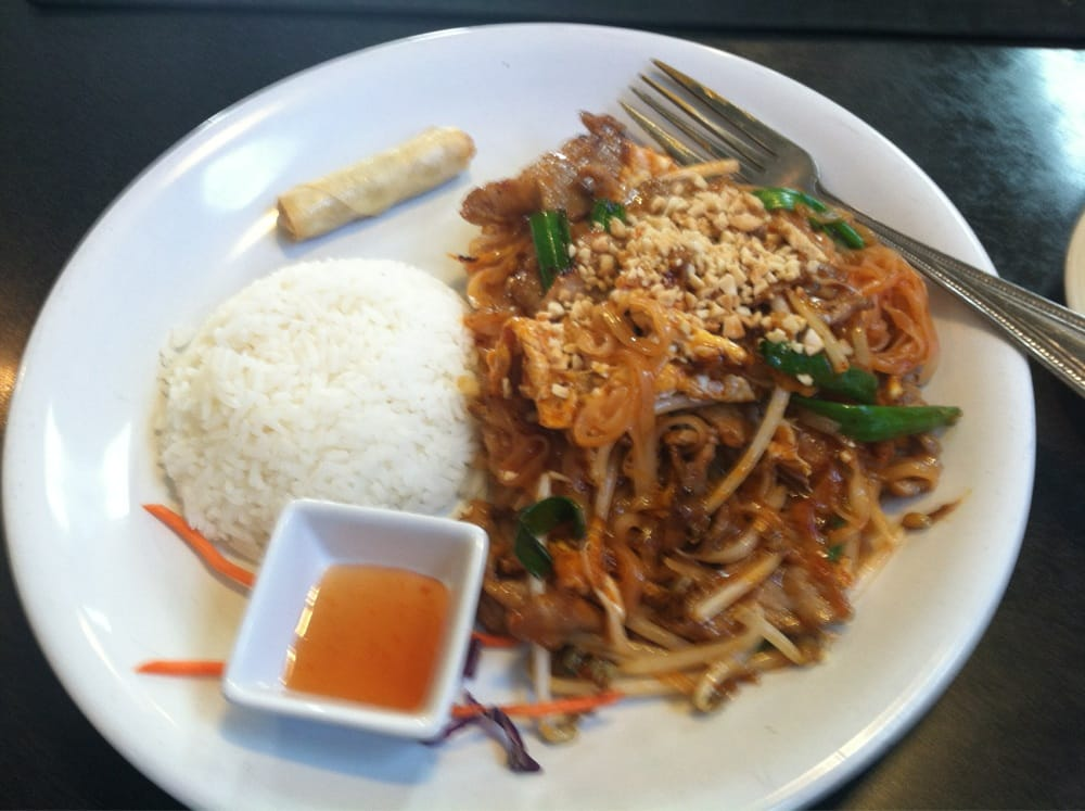 Lunch special of 5 star phad thai best i 39 ve ever had yelp for 7 star thai cuisine