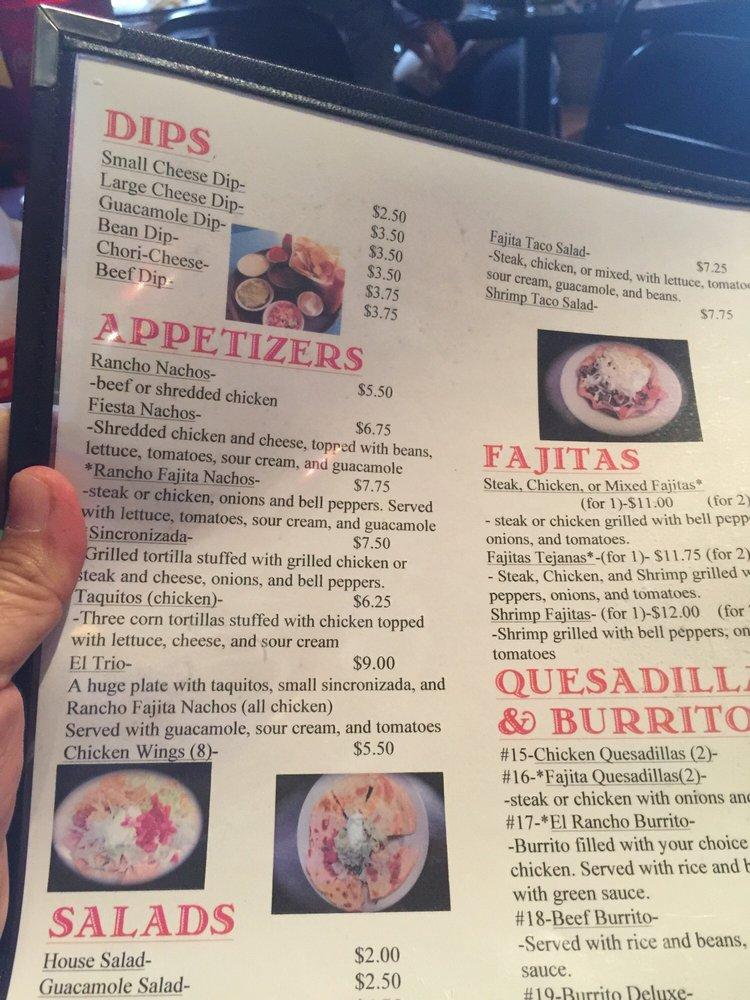 El Rancho Mexican Restaurant: 5921 5th Ave, Eastman, GA