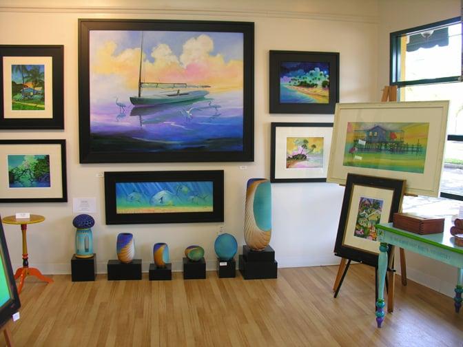 Painted Fish Gallery: 350 Main St, Dunedin, FL