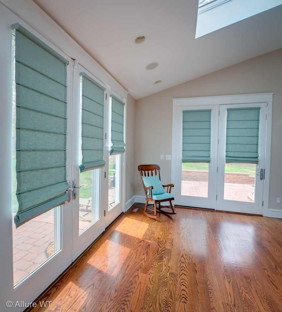 Photo Of Allure Window Treatments Philadelphia Pa United States Custom Roman Shades