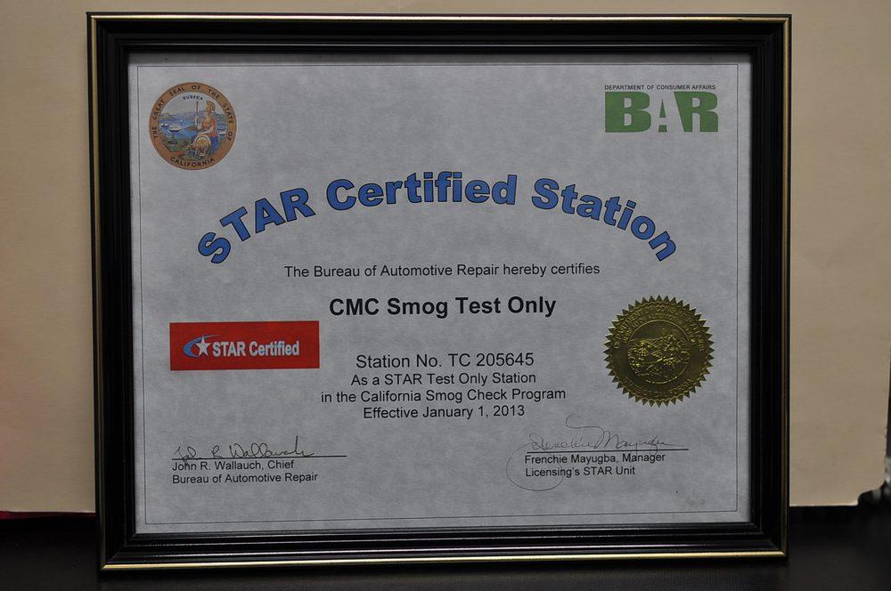 CMC Smog Test Only 20 Photos 33 Reviews Smog Check