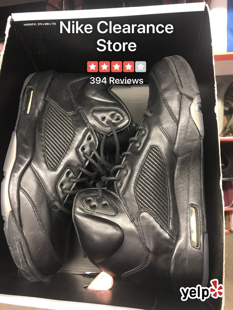 900734c7 Photo of Nike Clearance Store - San Leandro, CA, United States. Jordan 5