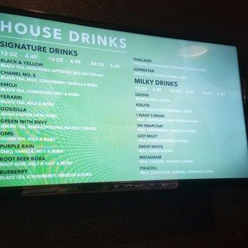 House Drinks: