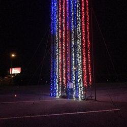 photo of hank aaron stadium mobile al united states christmas nights of