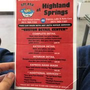 Voted 1 Full Services Car Wash In Highland