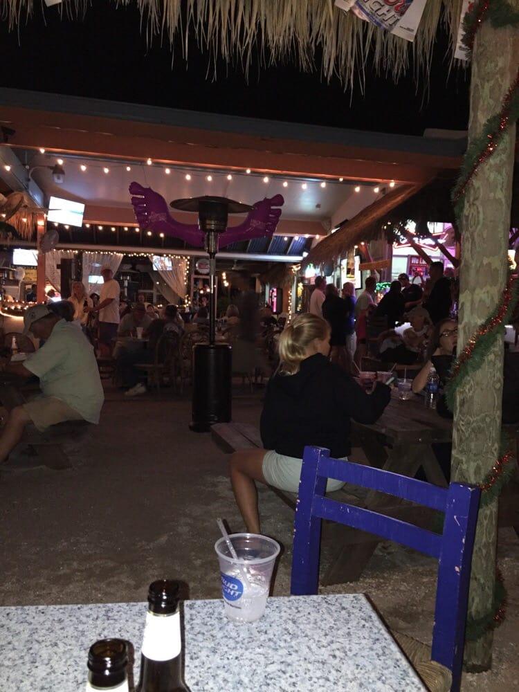Barefoot Tiki Bar Cafe Holmes Beach Fl