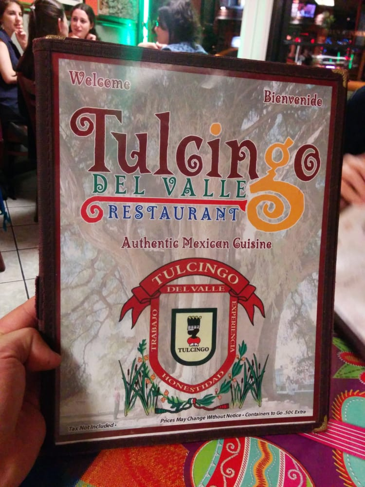 Tulcingo Del Valle Restaurant New York