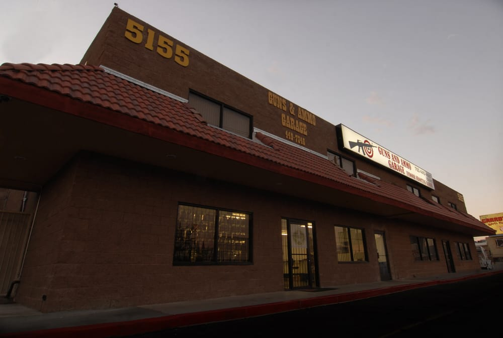 Come and see us today we 39 re located just off w tropicana for Gun garage las vegas