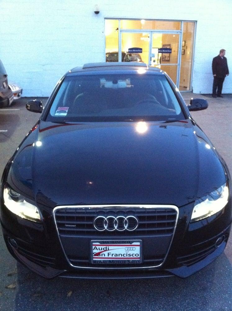 My New Toy Audi A4 Quattro Premium Plus With Navigation