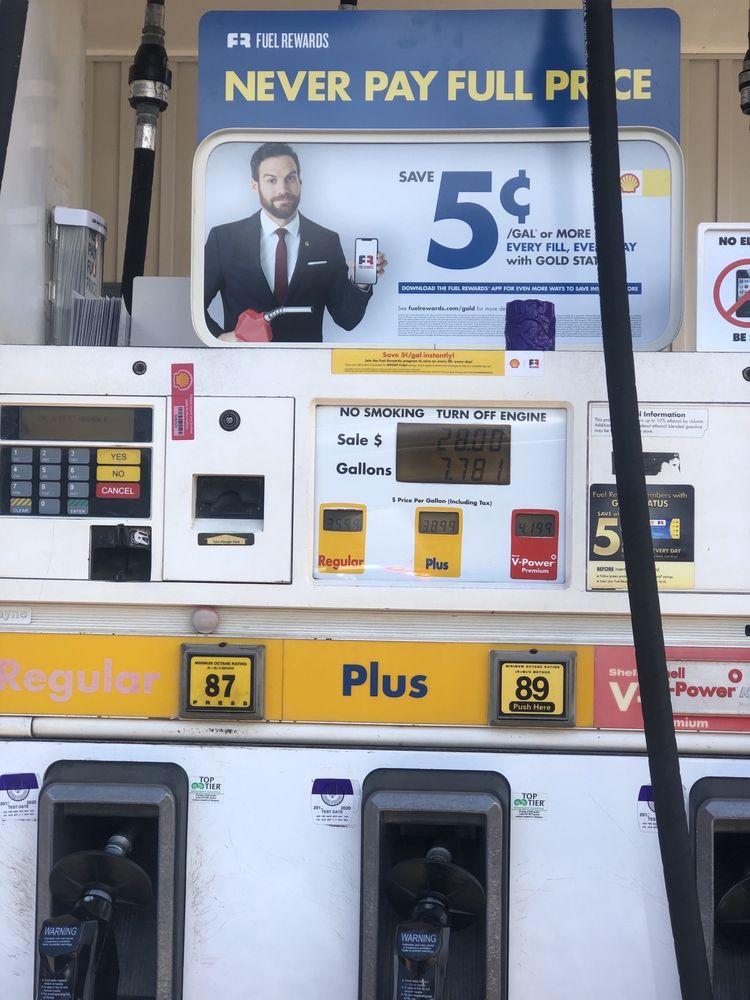 Shell Gas Station Hanamaulu: 3-4280 Kuhio hwy, Lihue, HI