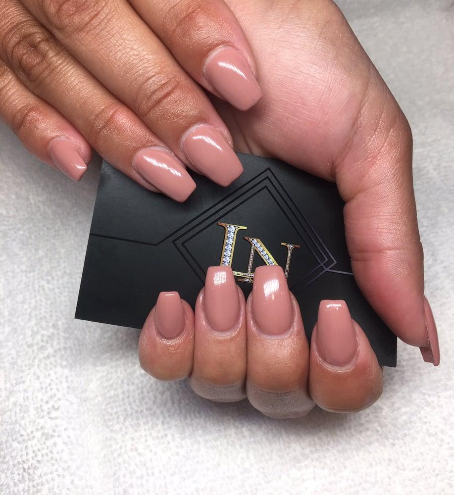 Photo Of Lacquer Nails Spa Corona Ca United States Full Set