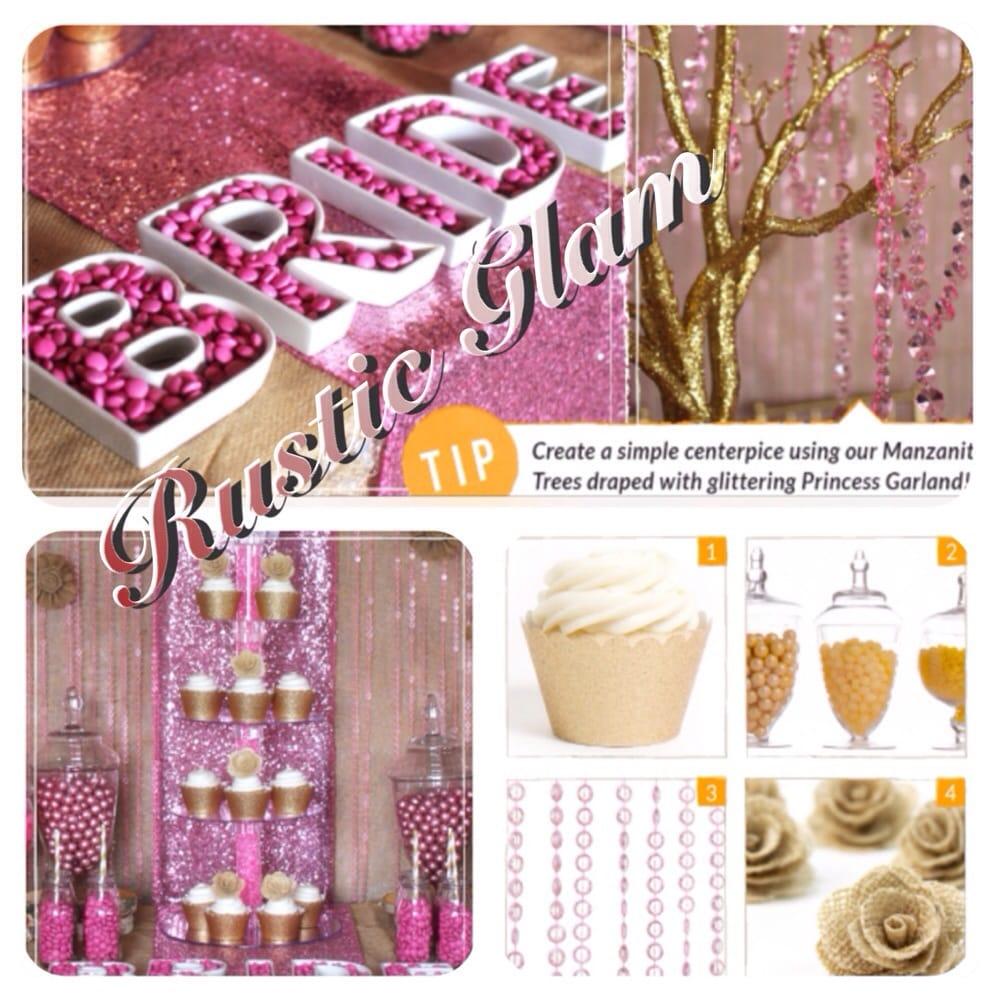 photo of mapleleaf decorations toronto on canada bridal shower decorations