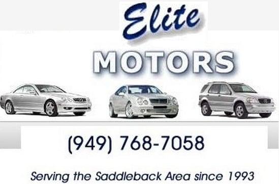 Elite Motors 26 Recensioner Bilmekaniker Verkst Der