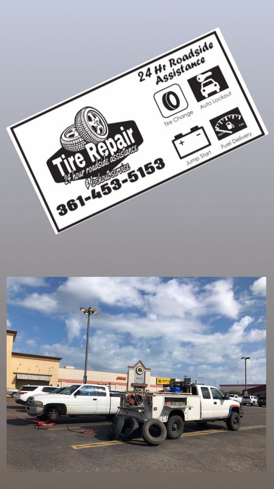 Tire Repair 24 Hour Roadside Assistance & Lockout Service: 210 Bluebonnet Ln, Sandia, TX
