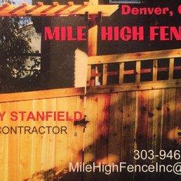 Mile High Fence 16 Photos Fences Amp Gates Aurora Co