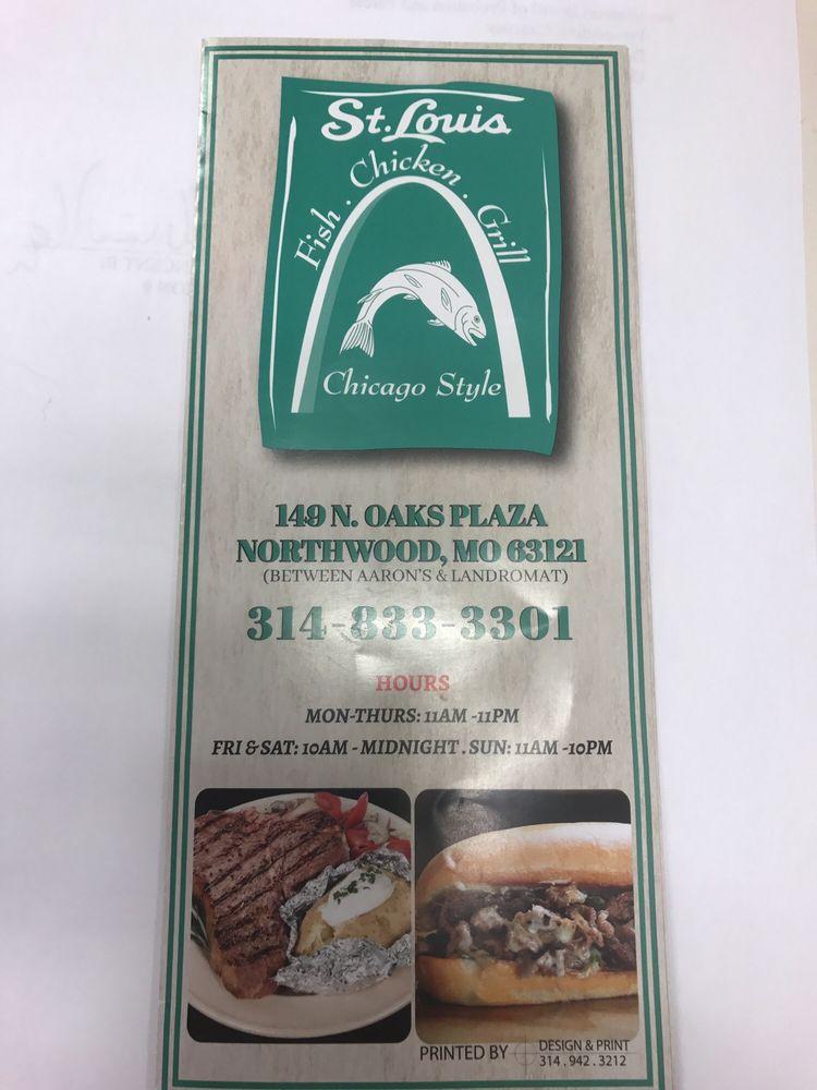 St Louis Fish & Chicken Grill: 149 N Oaks Plz, St. Louis, MO