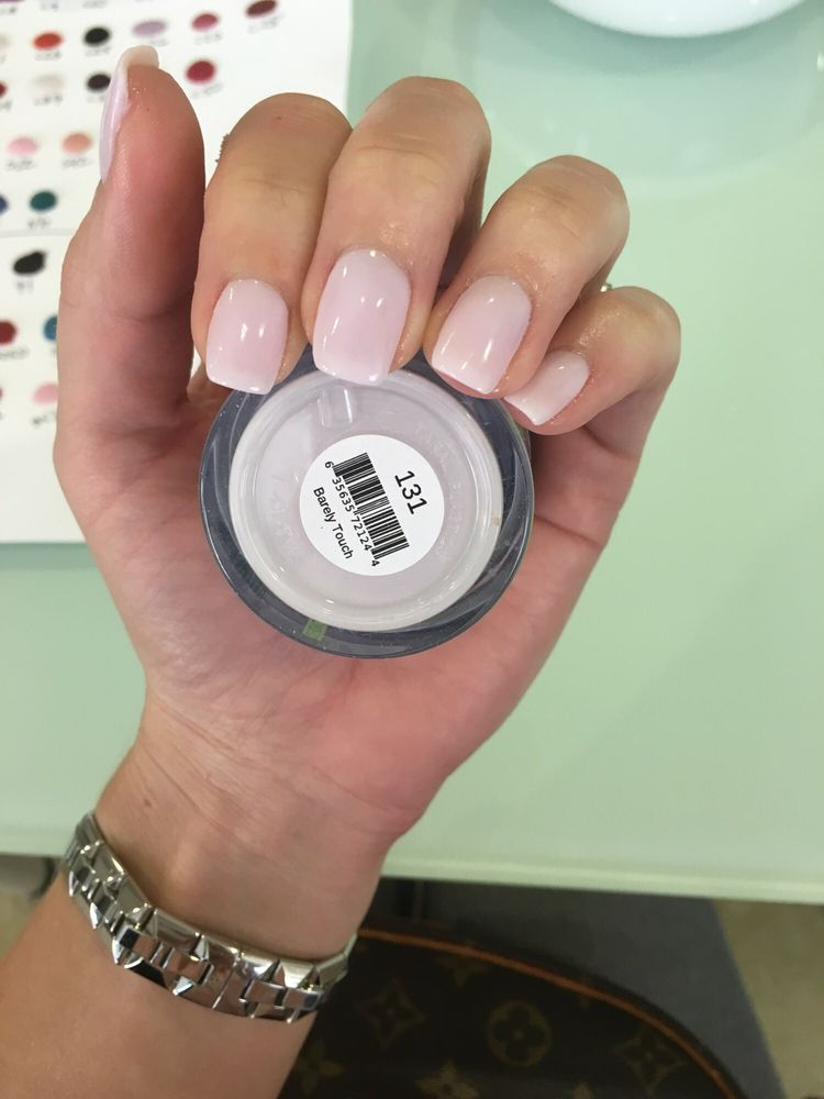 Nexgen Nails French Manicure: Love This Light Pink/lilac Color. 131 Nexgen Nails By Tan
