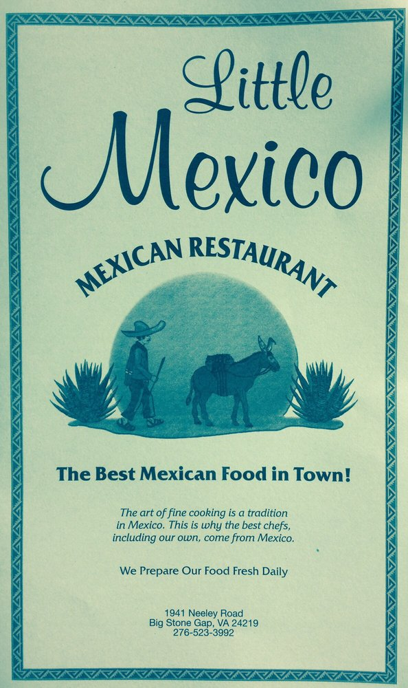 Little Mexico: 117 Powell Valley Rd, Big Stone Gap, VA