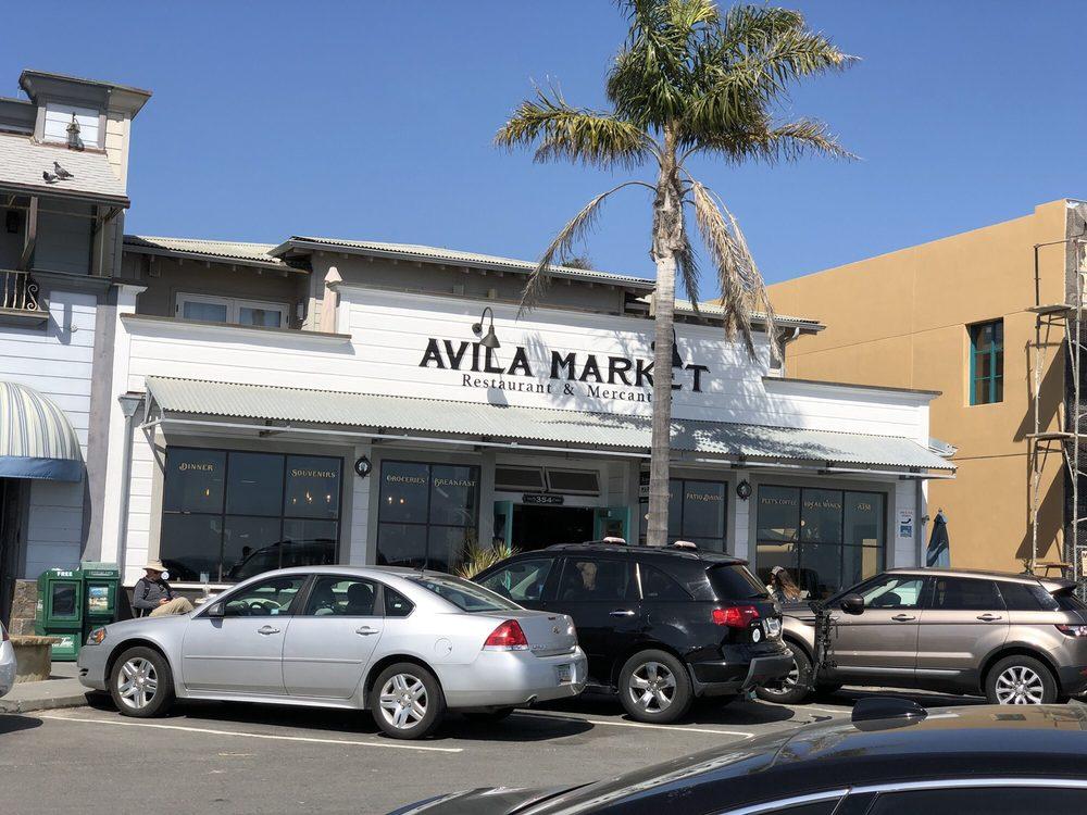 Avila Market Restaurant & Mercantile: 354 Front St, Avila Beach, CA