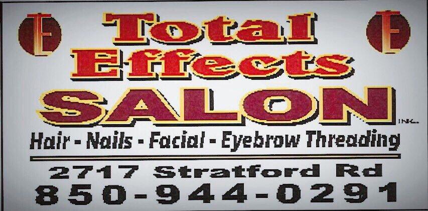 Total Effects Salon Hair Salons 2717 Stratford Rd Pensacola Fl