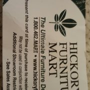 The Coffee Table Photo Of Hickory Furniture Mart   Hickory, NC, United  States. Discount Card.