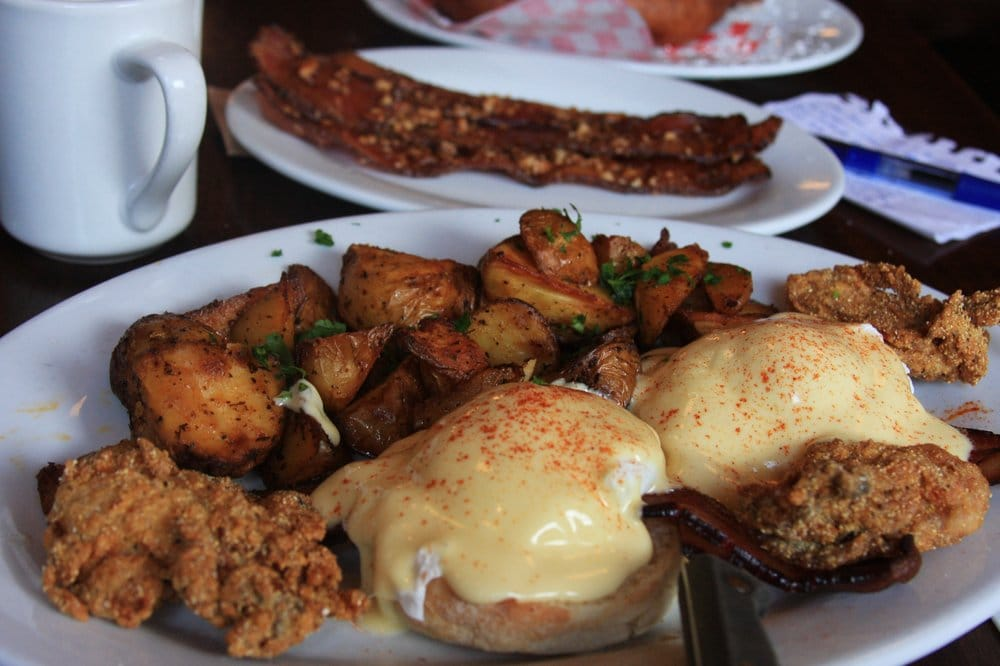 Superieur Photo Of Screen Door   Portland, OR, United States. Fried Oyster Benedict: