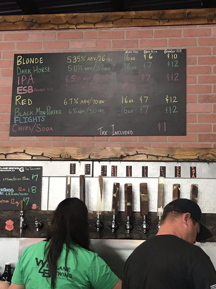 Westlane Brewing: 207 E H St, Tehachapi, CA
