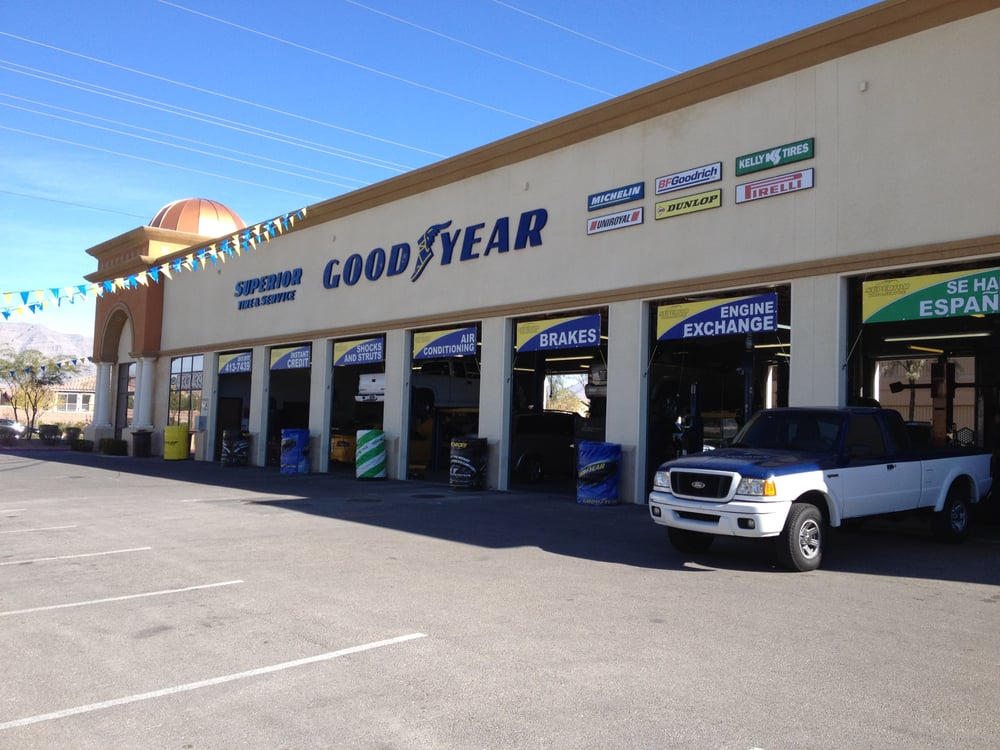 Car Tires Near Me >> Superior Tire - Goodyear Auto Service Center - Auto Repair - North Las Vegas, NV - Yelp