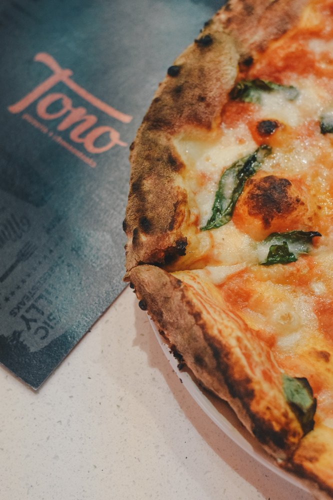 Tono Pizzeria + Cheesesteaks: 3500 124th Ave NW, Coon Rapids, MN