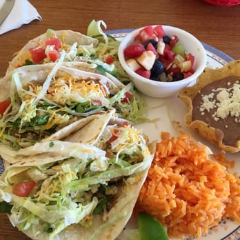detailed look 8739f 33949 Photo of El Huarache - Holland, MI, United States. Fish tacos, watermelon