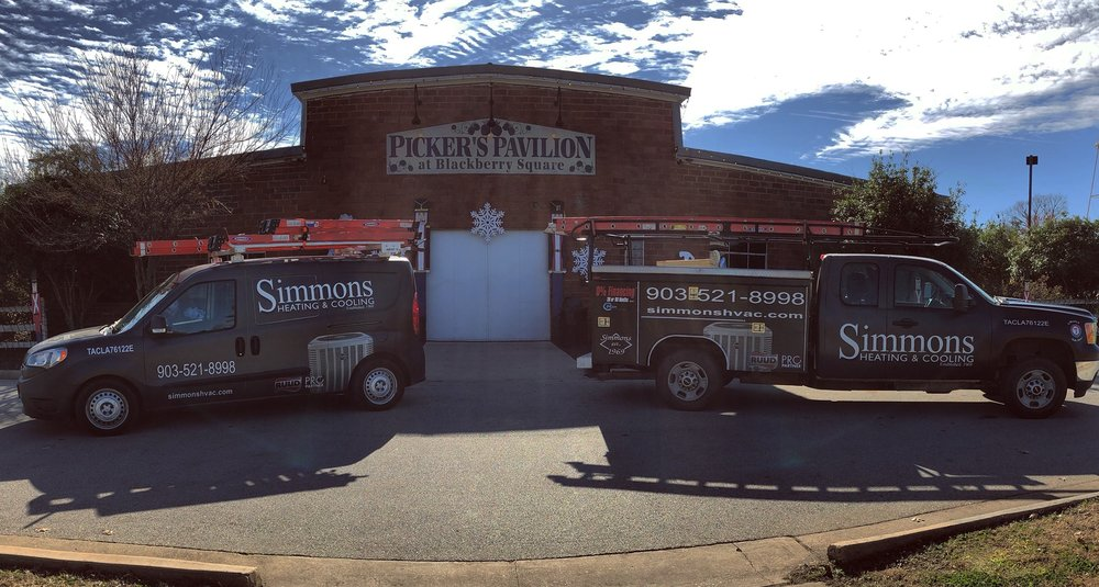 Simmons Heating and Cooling: 18512 US Hwy 69 N, Lindale, TX