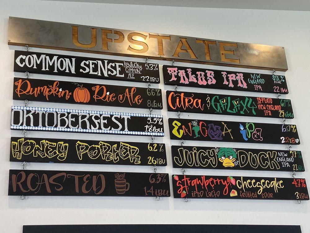 Upstate Brewing Company: 3028 Lake Rd, Elmira, NY