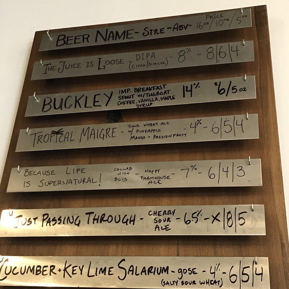 Transient Artisan Ales: 4229 Lake St, Bridgman, MI