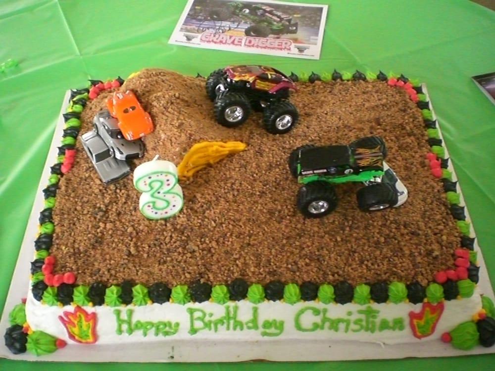Monster Truck Cake Yelp
