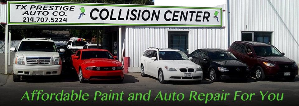 TX Prestige Auto Collision Center.