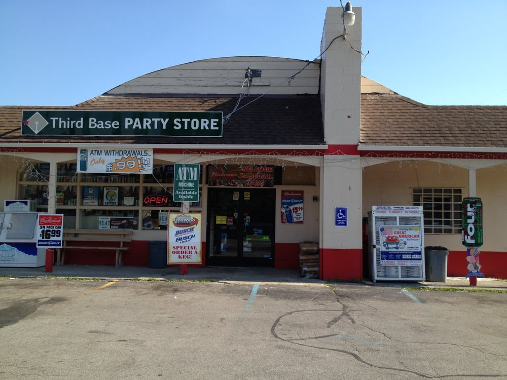 Third Base Party Store: 2832 Midland Rd, Bay City, MI