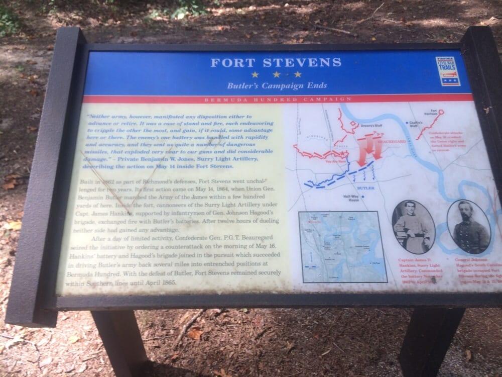 Fort Stevens: Pams ave & Norcliff rd, Richmond, VA