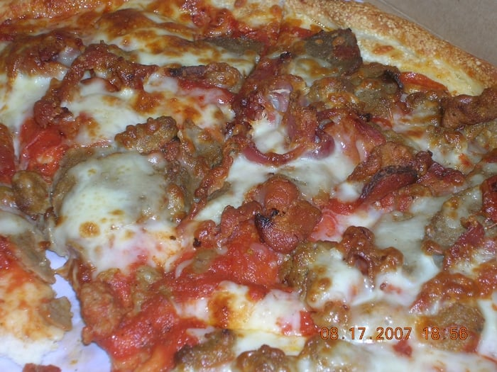 Meat lovers pizza yelp for Classic house of pizza bolton ma