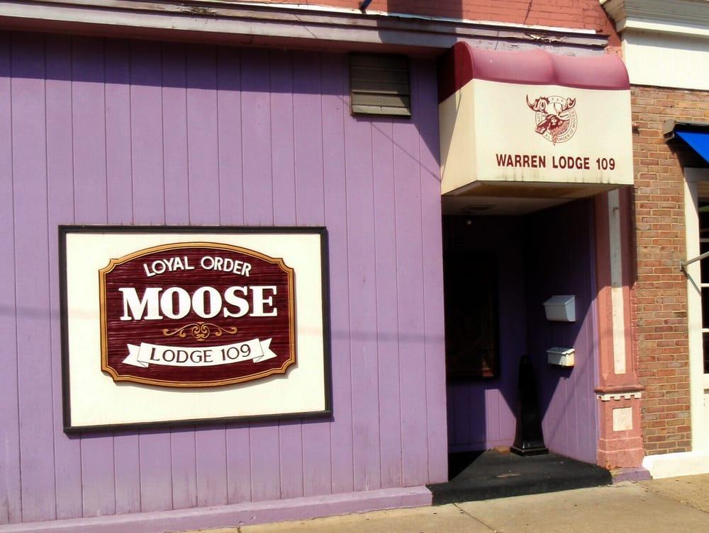 Moose Lodge: 422 Pennsylvania Ave W, Warren, PA