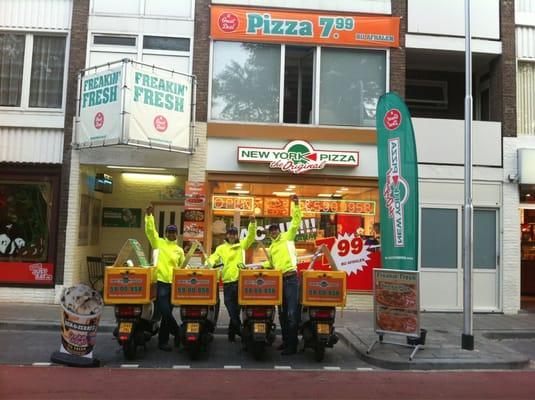 New York Pizza Delivery Pizza Wandelboslaan 36 Tilburg Noord