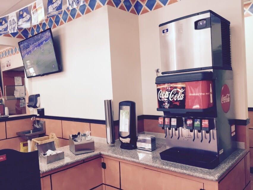 soda machine refill