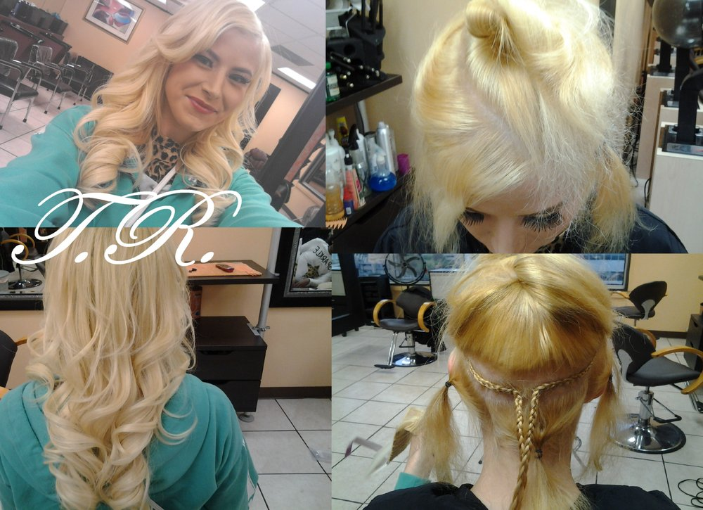 Natural Looking Lengthening Fullness Euro Hair Extensions Easy