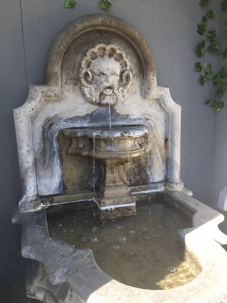 Super cool fountain yelp for Dead fish crockett