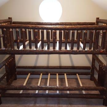 Charming Photo Of Viking Log Furniture   Saint Joseph, MN, United States. Hickory Log
