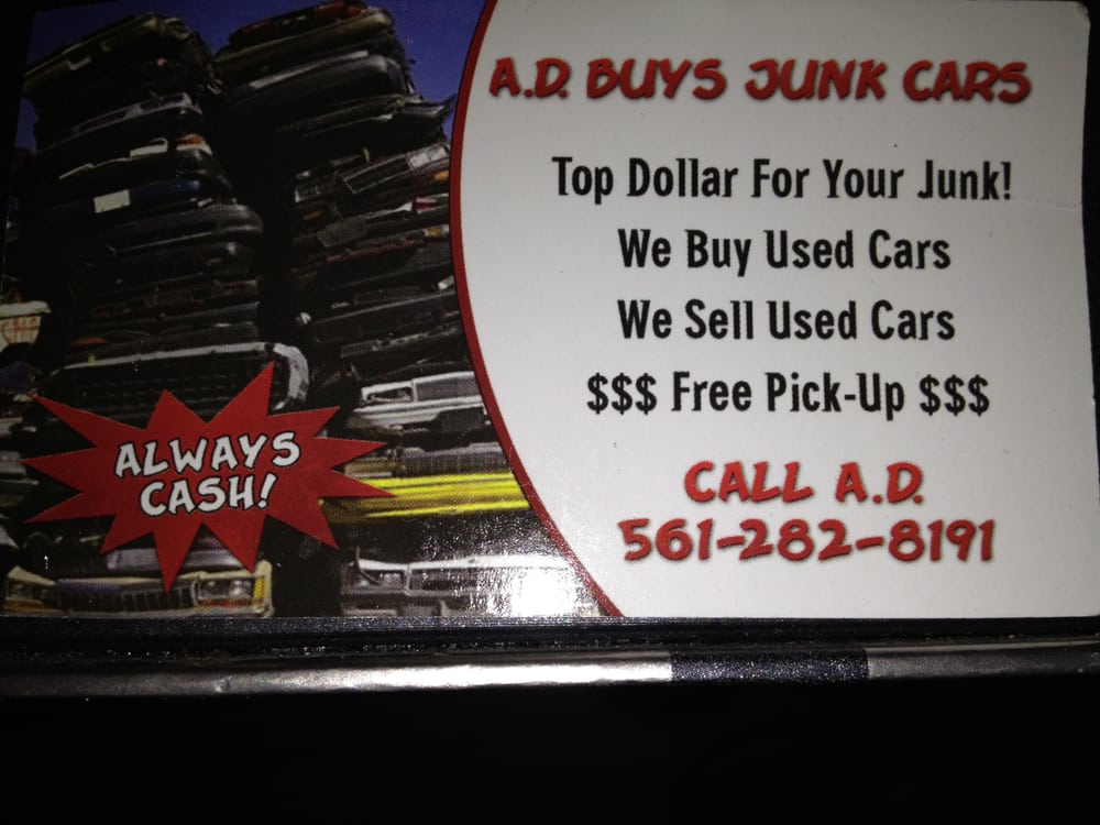 junk car for cash in any condition. - Yelp