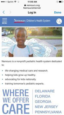 Nemours Children's Specialty Care, Pensacola 8331 N Davis Hwy